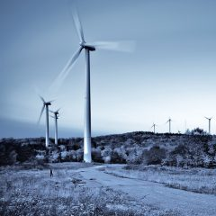 A novel $160 million renewable energy project combining wind, solar and storage technologies reached financial close. Tesla Inc. will supply batteries and Vestas Wind Systems