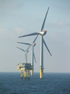 Wind power, smart cities for our future competition, offshore wind power