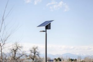 First of all and foremost, we announced the first installation of the new Sol EverGen solar light in Colorado. Because this installation in Aurora's Sand Creek Park is part of a larger trend. A larger trend more importantly of solar technology. One more importantly becoming a practical, sustainable solution. Similarly one that challenges the things as they are in outdoor municipal lighting.