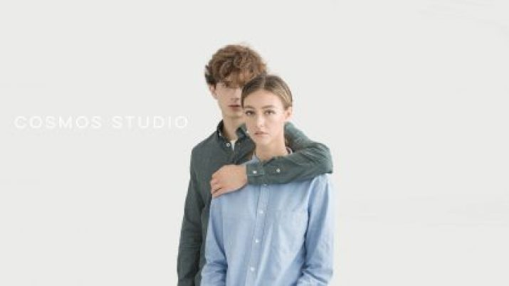 COSMOS STUDIO - A shirt that is 95% more eco-friendly.
