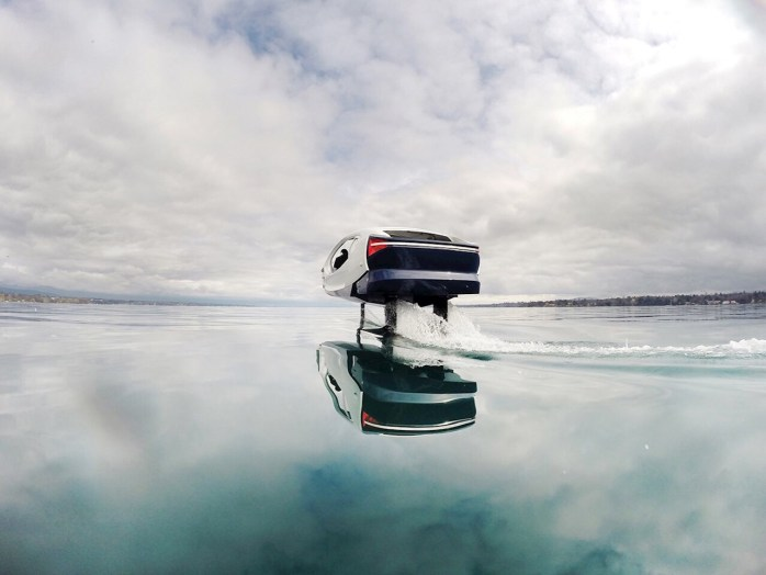 ABB Ability™ for innovative electric water taxi