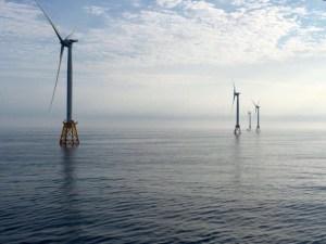 Block Island offshore wind farm. Image Source: Deepwater Wind