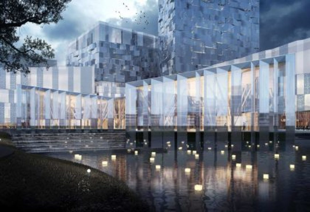 Visually appealing solar modules as architectural elements in building facades