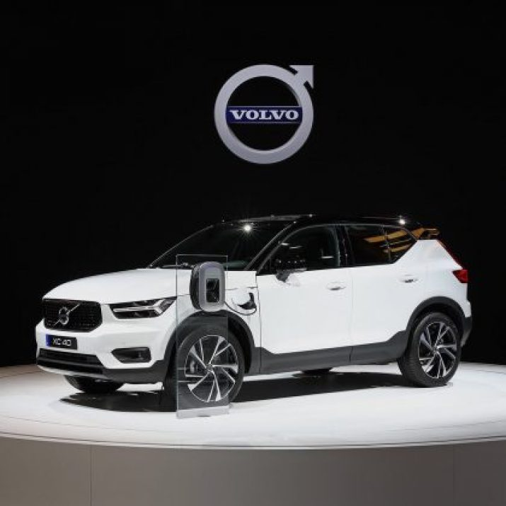 Volvo electrified car SUV