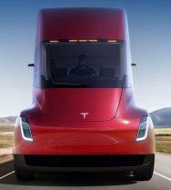 Tesla semi front profile
