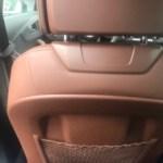Back seat view A4 Audi