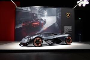 Electric Concept Lamborghini Terzo Millennio Green Living Guy