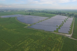 Conergy's solar farm project with RASLAG Corporation in Mexico, Pampanga Philippines. Image: Conergy