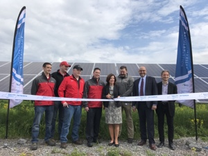 First of all, AES Energy and Governor Andrew M. Cuomo announced the completion of a 2.76 megawatt solar project in Central New York. Located in the Town of Van Buren, Anheuser-Busch's Baldwinsville Breweryis also the sole off-taker of the commercialsolar project. Onewhich complements the campaign of