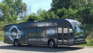 Nova Bus electric buses