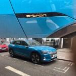 Audi charging stations