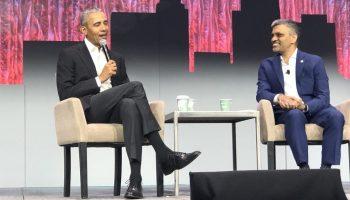 President Barack Obama and USGBC president