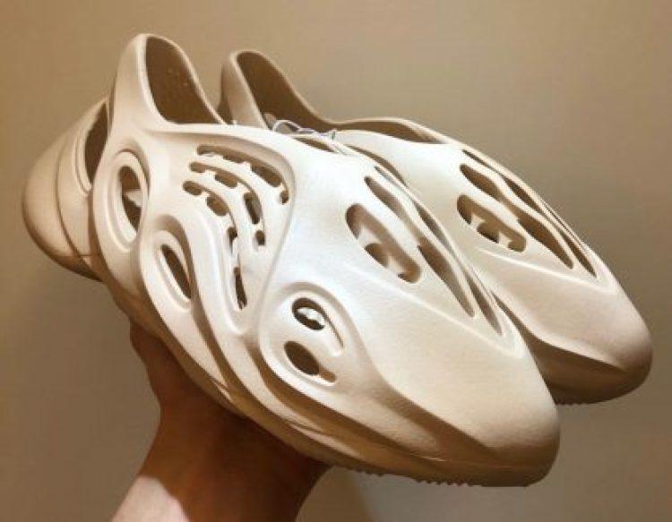 Yeezy Sneakers made with Algae Foam