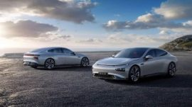 NEDC 706km Super-long range, first L3-ready smart EV at RMB 229,900 – 349,900 post subsidies or between $32,462 - $49,404 USD.(Guangzhou, April 27, 2020) - Xpeng Motors, a leading Chinese electric vehicle and technology company, today announced the launch of its P7 super-long range, high-performance, fast-charging intelligent EV sports sedan, its second production model. The P7 is immediately available for order in China, in 3 versions and 8 configurations, and customer deliveries will commence end June 2020, starting at RMB 229,900 – 349,900 (US$32,462 – 49,404) post subsidies.
