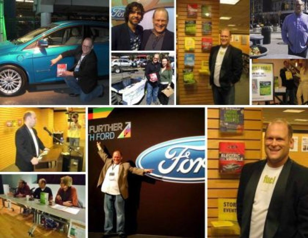 Seth Leitman The Green Living Guy with Ford Motor Company