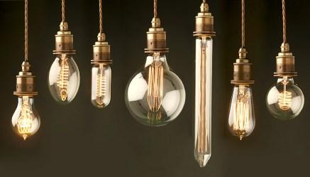light bulb shapes