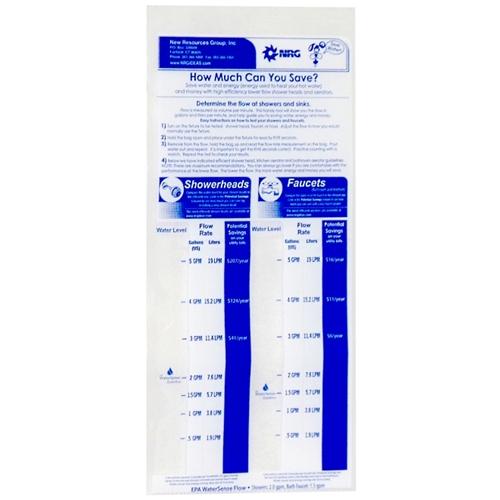 Flow rate bag
