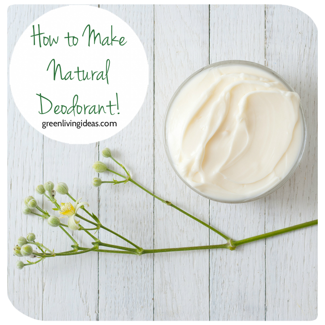 Natural Deodorant Recipe for Happy Pits
