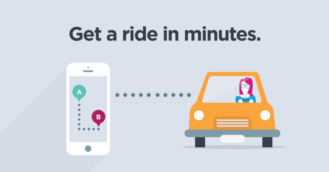 ridesharing with lyft