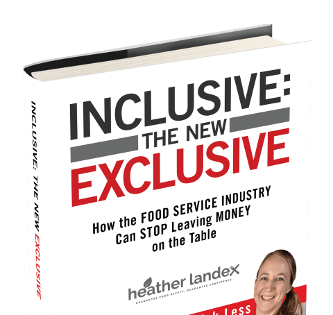 Have You Ever Felt Excluded When Eating Out? Heather Landex On How To Serve Customers Better