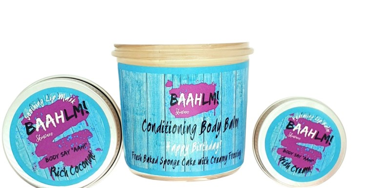 Baahlm skincare, from baking cakes to creating lip balms - how the lockdown created a new brand