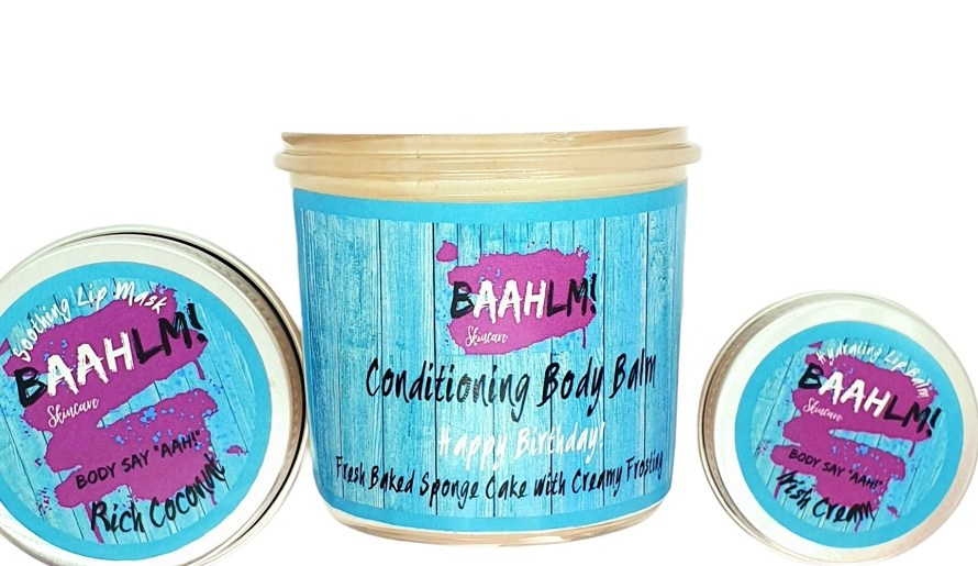 Baahlm! skincare, from cakes to lip balms – how the lockdown created a new vegan brand (sponsored)