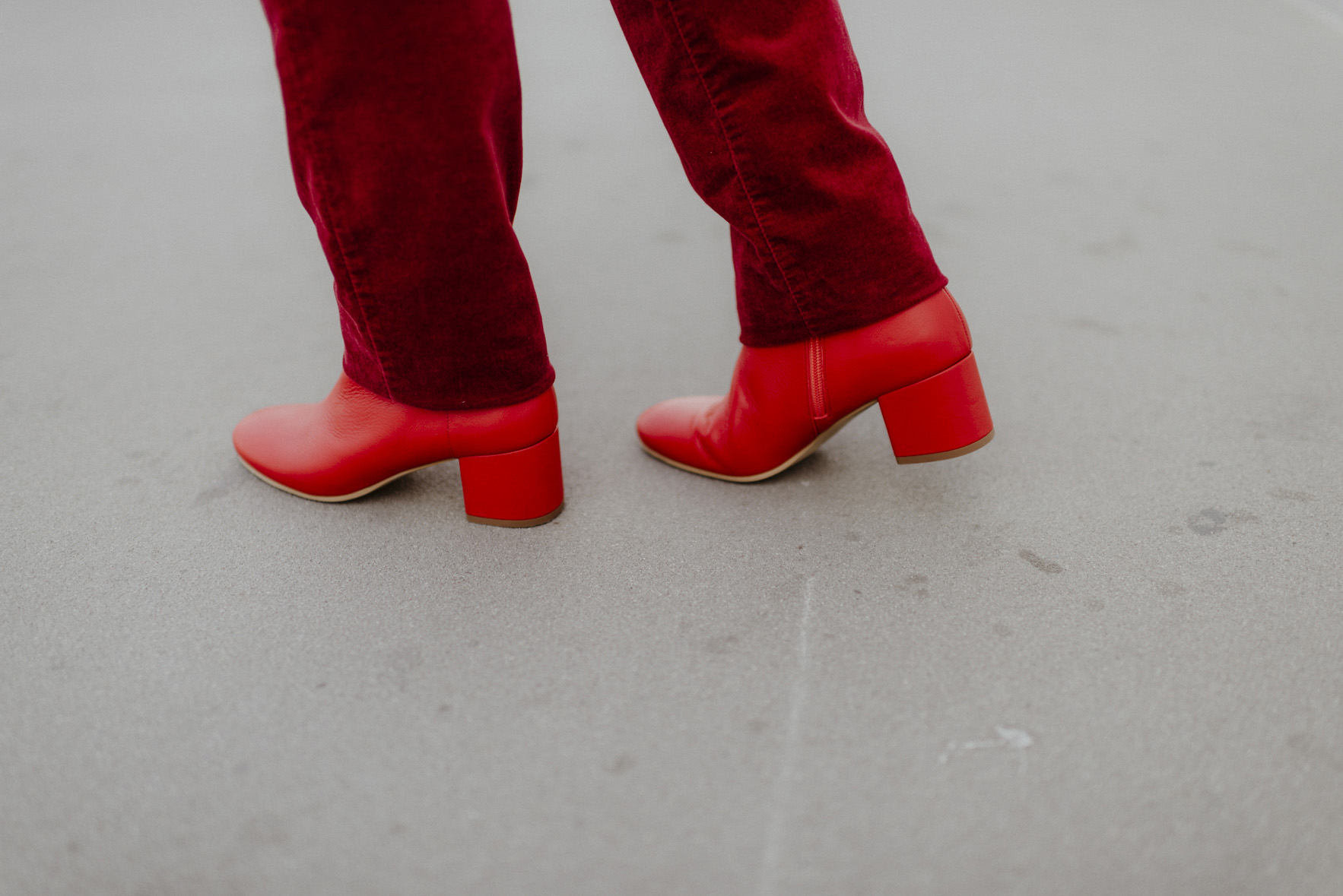 greenlooksgreat-ninetofive-ethical-shoes-red-ankle-boots