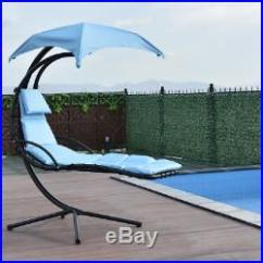 Hammock Chair With Canopy Chicco Hook On Blue Hanging Chaise Lounge Arc Stand Air Porch Swing