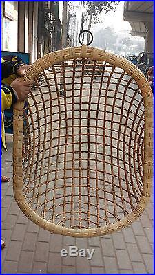 hanging chair lahore tommy bahama beach chairs and umbrella cane handmade wicker swing garden lounge