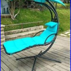 Hanging Patio Chair Best Chairs For Fire Pit Teal Chaise Lounge Umbrella Outdoor Furniture Deck Swing