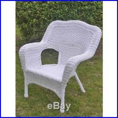 Resin Patio Lounge Chairs Office Chair Mat 36 X International Caravan 31802chwt Wicker Set Of 2 White