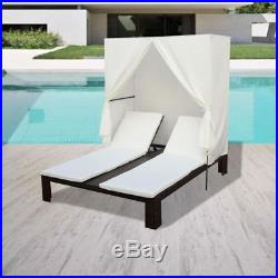 canopy daybed outdoor wicker sun sofa lounge cb2 bolla carbon dimensions rattan double lounger with recliner patio furniture brown