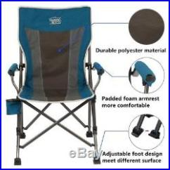 Folding Quad Chair Dining Table 6 Chairs Cheap Timber Ridge Camping Outdoor Sports Heavy Duty With Carry Bag