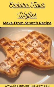 einkorn flour waffles