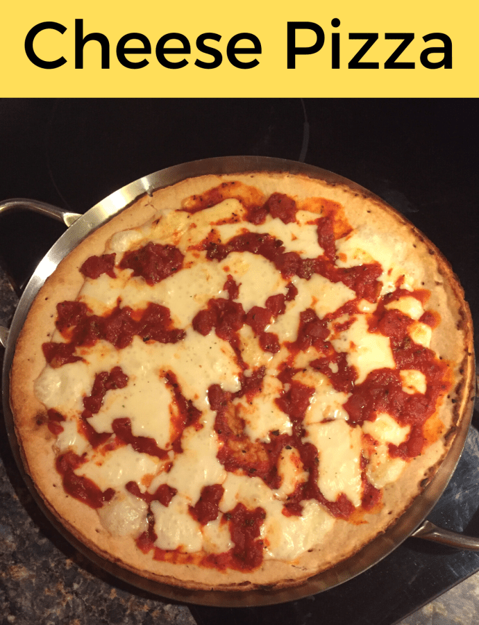 Chaumes Cheese Pizza Recipe