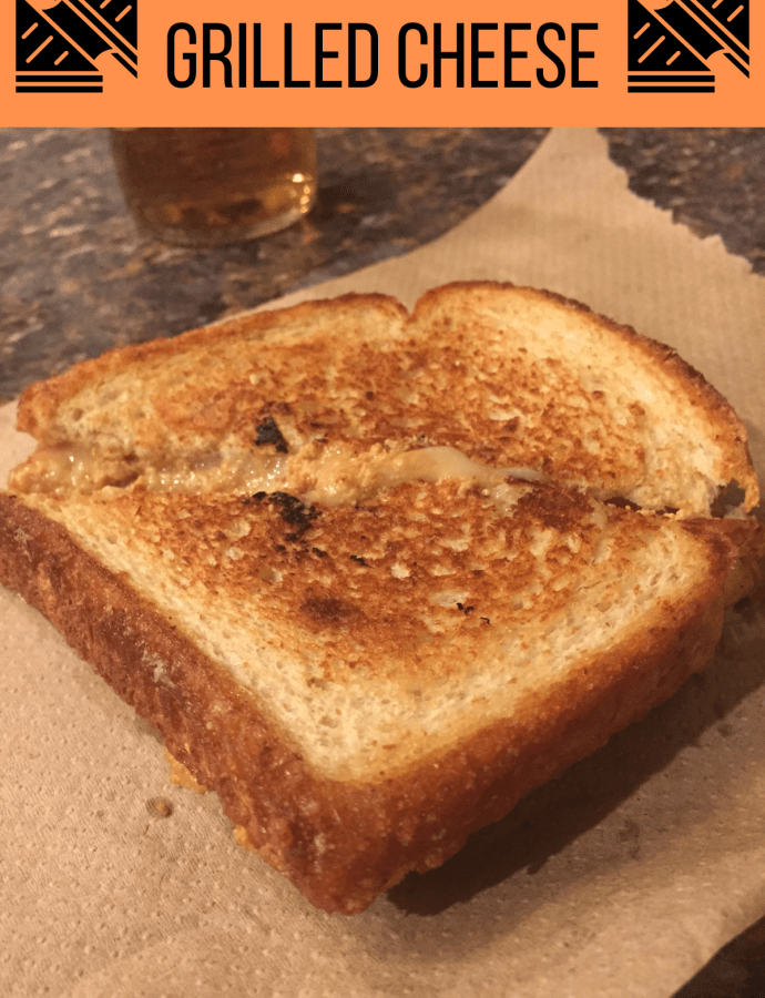 Cod Liver & Roe Pate Grilled Cheese