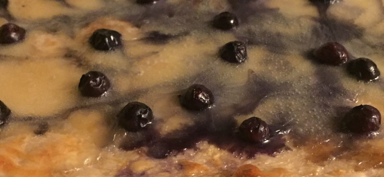 Blueberry Camembert Pizza Recipe