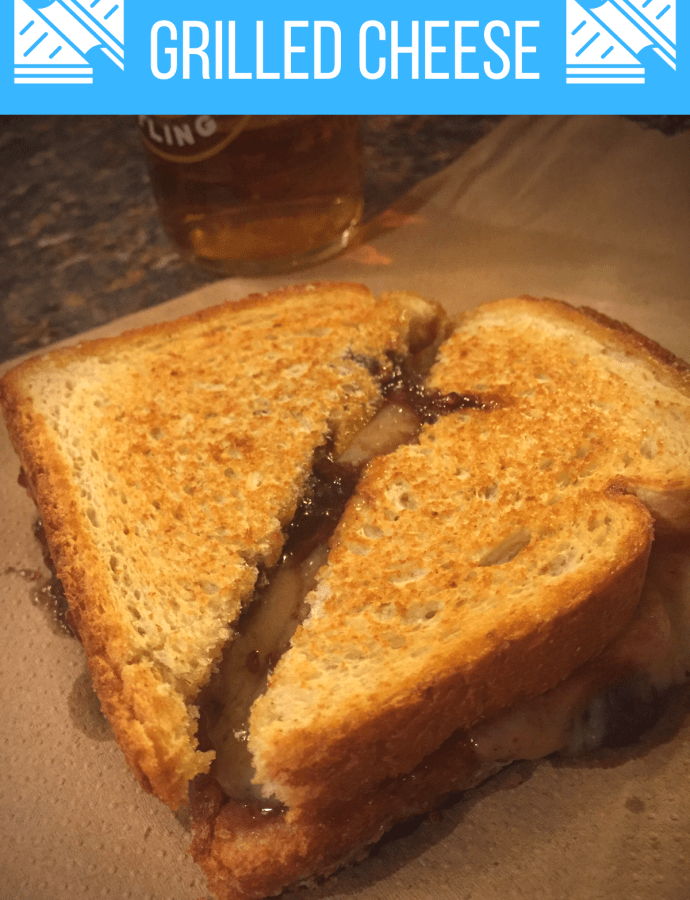 Blueberry Camembert Grilled Cheese