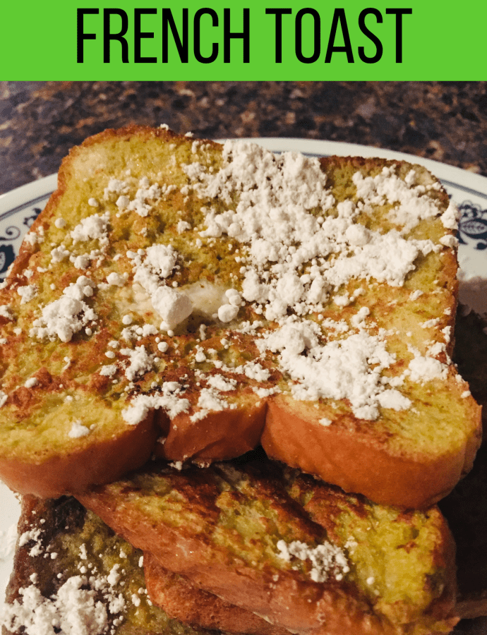 Matcha French Toast Recipe