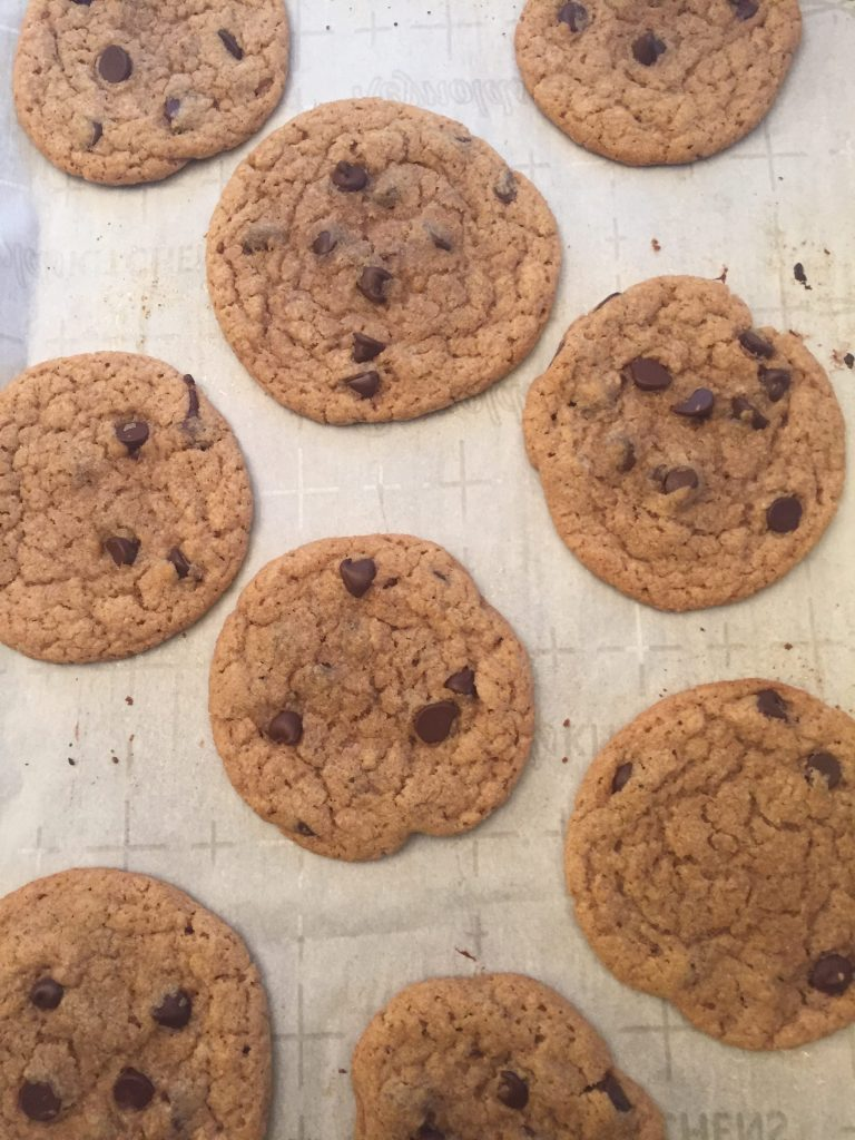 chocolate chip duck fat cookies