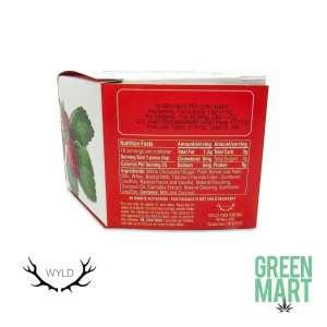 Wyld Edibles - Strawberry White Chocolate 10pk Back