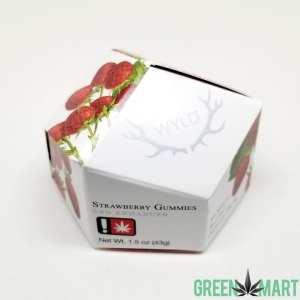 Wyld Strawberry Enhanced CBD Gummies