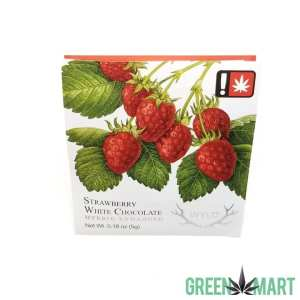 Wyld Strawberry Hybrid White Chocolate Single