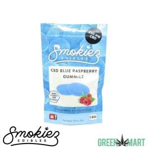 Smokiez Edibles - CBD Blue Raspberry Gummiez