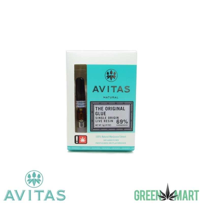 Avitas Naturals Live Resin Cartridge - The Original Glue