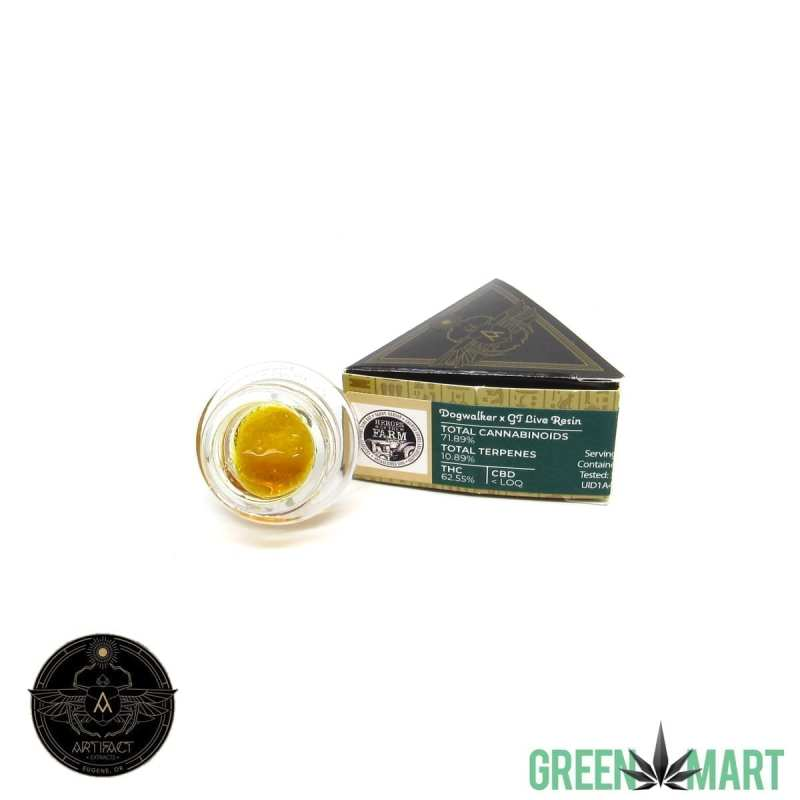 Artifact Extracts - Dogwalker x GT Live Resin