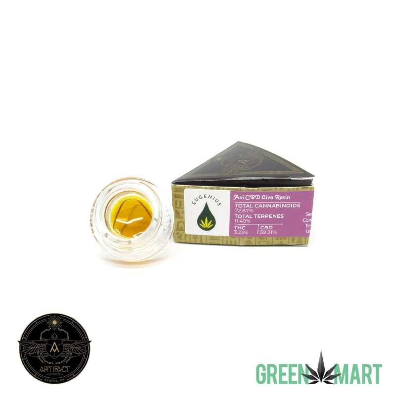 Artifact Extracts - Avi CBD Live Resin