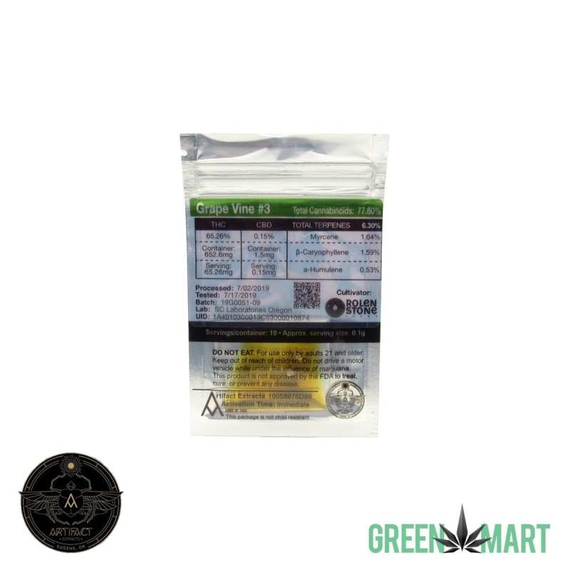 Artifact Extracts - Grape Vine 3