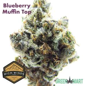 Blueberry Muffin Top by High Winds Farm