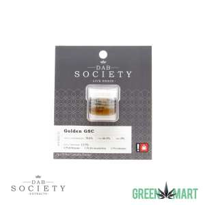Dab Society Extracts - Golden GSC Live Resin